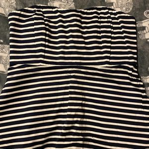 NWT J. Crew Factory Strapless Striped Top
